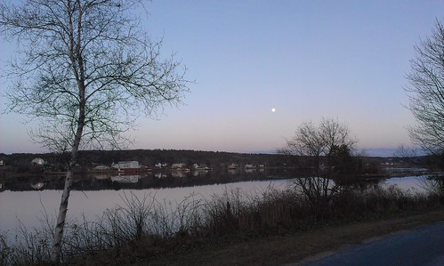Moon over LaHave