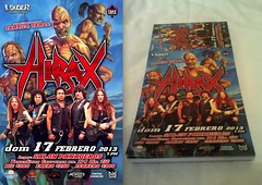 HIRAX CONCERT POSTER AND TICKETS FROM Tampico Mxico. SUNDAY FEBRUARY 17th 2013. (HIRAX Thrash Metal) Tags: mexico destruction itunes spanish metallica slayer mekongdelta thinlizzy v8 sod anthrax exodus helloween sepultura megadeth venom suicidaltendencies riff metalchurch kreator testament annihilator nuclearassault voivod hermtica celticfrost mercyfulfate maln spvrecords