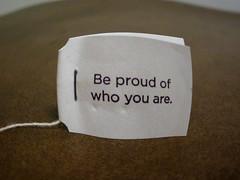 Positive reminder