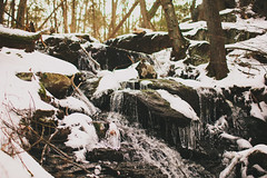 Testing New Glass at Stokes State Forest (JPang Photography) Tags: snow ice forest canon lens landscape waterfall state bokeh mark f14 iii 1d l mm stokes 35 ef