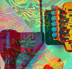 Guitar Abstraction - 2 (Visionheart - Lot of Catching Up to Do !!!) Tags: surrealism psychedelia photoshopart electricguitars visualremixes