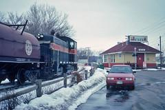 Creation Station (Trainboy03) Tags: milan ford illinois iowa il interstate 1995 escort 250 iais