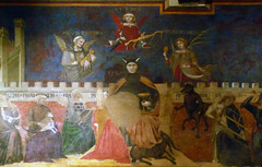 Detail from Ambrogio Lorenzetti's Allegory and Effects of Bad Government in the City and the Country