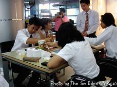 นักศึกษาสาขา Animation สวนสุนันทา ระบายสีน้ำ