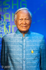General Prem Tinsulanonda (inkid) Tags: madame portrait people celebrity museum thailand minolta general bangkok 100mm singer ambient actor wax f2 superstar tussauds prem madamme tinsulanonda