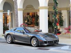 Ferrari 599 GTB (AJ Ferrari) Tags: cars beach mercedes benz martin lotus florida ferrari palm exotic porsche rolls worth morgan avenue audi lamborghini royce bentley aston gtb carspotting 599