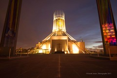 Liverpool - Metropolitan Cathedral of Christ the King (grj_wirral) Tags: liverpool cathedrals catholicchurch liverpoolcatholiccathedral liverpoolmetropolitancathedral liverpoolarchitecture