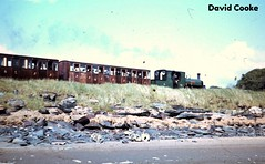 S1414 FR 2-4-0ST Blanche @ Porthmadog 1966 (davidncooke_686) Tags: uk wales train railway steam locomotive ng gauge narrow
