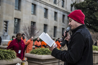 Witness Against Torture: Justin Reads a Poem from a Guantánamo Detainee