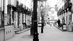 Photo of Woburn Walk (B&W)