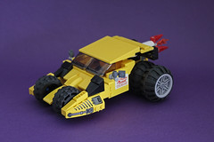 Pizza Planet Tumbler (Pedro Vezini) Tags: dark lego toystory pizza batman planet delivery knight tumbler