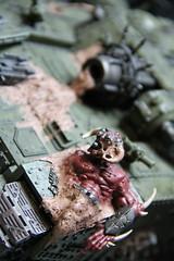 Daemon road kill (Joshua Childs) Tags: chaos 40k warhammer nurgle