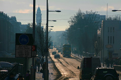 Rathmines Road Lower, Rathmines, During the Winter (laurie mayes) Tags: pictures ireland photography photo republic image photos pics earth picture pic images eire adventure photographs photograph planet laurie various isle emerald mayes hofman lauriemayes funmaster
