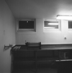 mangle (rotabaga) Tags: 120 6x6 mediumformat göteborg lomo lomography sweden gothenburg pinhole diana sverige tmax400 svartvitt 1minuteexposure mellanformat