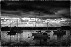 "Morro Bay Harbor Sun Rays (James A. Crawford - ""Crawf"") Tags: ocean california sunset wallpaper sky blackandwhite bw usa white seascape black art texture beach water clouds photoshop canon reflections boats eos bay blackwhite creative calif textures cal sail ripples morrobay sailboats canoneos unforgettable hdr blackdiamond digitalphotography edges obispo sanluisobispocounty ruby2 blueribbonwinner vividimagination creativephotography justimagine cs5 efex colorefexpro niksoftware creativedigitalphotography flickraward viveza theunforgettablepictures creativepostprocessing gnneniyisithebestofday rubyphotographer blackdiamondpremier silverefexpro flickraward5 viveza2 flickrawardgallery hdrefexpro extraordinarilyimpressive ruby10 ruby15 colorefexpro4 imageborders magicmomentsinyourlifelevel1 ruby20 challengeruby"