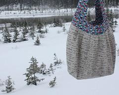 Birdie Sling Bag (Everyday Fray) Tags: bag sewingproject birdiesling