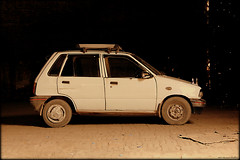 Guys? .........Guys?? (Syed Sarmad Bukhari) Tags: old pakistan car decay suzuki mehran