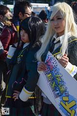 comiket 83 winter 2012-47 (marcellomasiero) Tags: girls anime cute sexy japan cool cosplay manga guys crossdressing videogames kawaii   odaiba cosplayers     comiket    comiket83 tokyobighsight