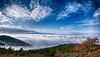 "The veil (kyramas) Tags: blue sky mountain tree nature fog clouds photoshop day pentax cloudy greece hdr k7 ioannina blueribbonwinner sigma1020 ""flickraward"" blinkagain"