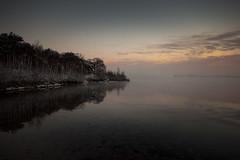 Cold reflexion (Jan Linskens) Tags: winter cold fog sunrise landscape day reflexion soe limburg landschap kou koud rein