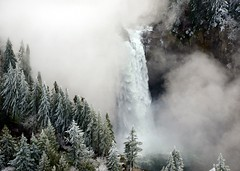 Snoqualmie Falls, Freezing Fog, Washington