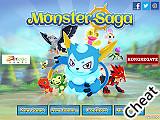怪獸訓練大師:修改版(Monster Saga Cheat)
