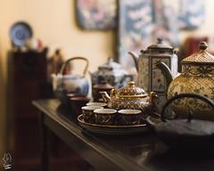 Kocha My Ocha (10/365) (Christian.Watkins) Tags: asian japanese tea antique pots thai teapot kimono ocha kocha