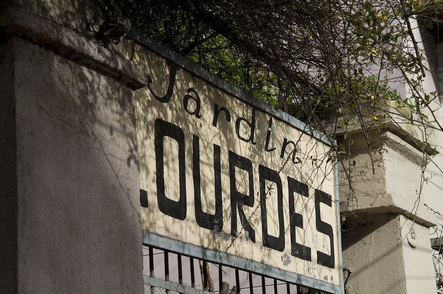 Antiguo Jardin Lourdes
