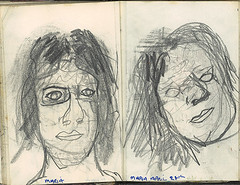 """Two poor drawings of a women called Maria • <a style=""""font-size:0.8em;"""" href=""""http://www.flickr.com/photos/91814165@N02/8423315793/"""" target=""""_blank"""">View on Flickr</a>"""