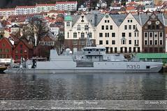 KNM Alta - M350 (Aviation & Maritime) Tags: norway alta bergen minesweeper m350 knm knmalta minehunter royalnorwegiannavy kongeligenorskemarine m350alta