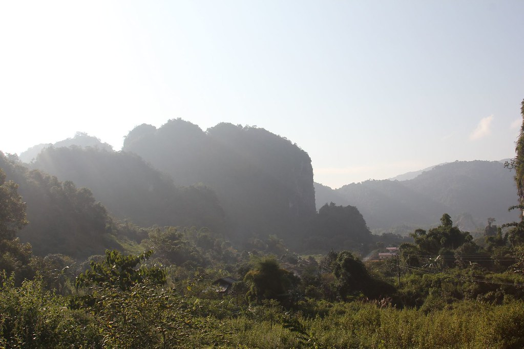 Country scenery, Sam Neua, Northern Laos