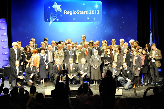 Ceremony Regiostars awards 2013