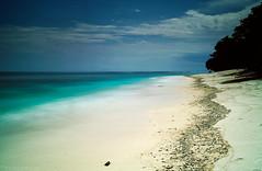 Gili beach (tsiklonaut) Tags: ocean longexposure travel sea sky white seascape motion beach indonesia landscape island still sand asia tour bright indian sigma experience tropical tropic southeast gili effect timeless discover foveon x3     dp2s tsiklonaut