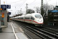 """403 037-5 """"Stuttgart"""", Dsseldorf-Oberbilk (Howard_Pulling) Tags: station train canon germany deutschland december gare zug bahnhof trains german dusseldorf bahn 2011 dsseldorfoberbilk 400d"""