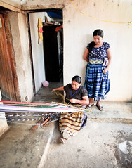 Textile work in the home workshop of a Maya women of Fair Trade NGO Asociacion Ixoqui Ajkemaa in San Juan La Laguna, Guatemala (eriktorner) Tags: maya guatemala sanjuan atitlan mayan sanpedro sanpedrolalaguna sanjuanlalaguna fotoeriktrner eriktornernu