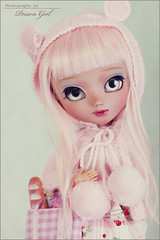 Macaroon - Pullip Nahh-ato (-Poison Girl-) Tags: pink color colors girl eyes doll long dolls eyelashes sweet pastel tan makeup planning jp wig pastels groove pullip lovely poison custom pullips jun p