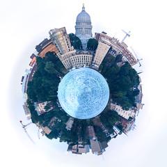 Planet Madison (m2 Photo) Tags: madison wisconsin edgewater lakemendota panoramic spherical