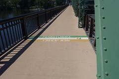 Pennsylvania / New Jersey State Line (YouTuber) Tags: newhopelambertvillebridge newjersey pennsylvania newhope lambertville stateline