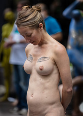 1U5A99421 (M Lu Photography NY) Tags: bodypainting 2016 naturist nude naked boobs nycbd2016 canon dslr 5dsr
