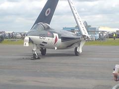 Hawker Sea Hawk (girdergibbon) Tags: kembleairday aircraft hawker seahawk