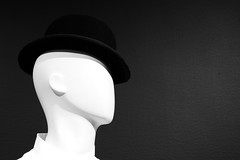 Droog Profile (Johnny Grim) Tags: stanleykubrick droog aclockworkorange bowler contemporaryjewishmuseum cjm