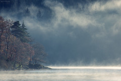 A misty morning (Chee Seong) Tags: loch ard scotland morning mist fog lake treet tranquil forest nature landscape