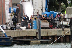IMG_7240 - Dunkirk Film Set - Weymouth - 28.07.16 (Colin D Lee) Tags: christophernolan warnerbros studio hollywood movie film set dunkirk weymouth quay dorset worldwar2 filming camera lights crew production