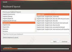 keyboard selection (eInfoDesk) Tags: how install ubuntu pc or laptop tutorial with pictures step by method