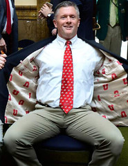 Kyle Whittingham (CoachesAndDaddies) Tags: kylewhittingham bulge coach