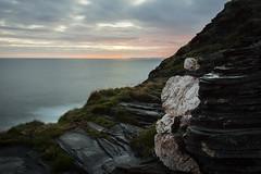 Boscastle (jon.capps) Tags: boscastle northcornwall hills clouds sunrise water atlantic rocks cliffs ocean grass seascape sea sun coloursinsky bluesea clearwaters landscape