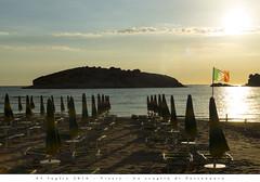 05 luglio 2016 - Vieste - Lo scoglio di Portonuovo (Andrea di Florio (5,000,000 views)) Tags: andreadiflorio nikon d600 2470 28 panorama viste puglia foggia vacanza estate landscape mare sole spiaggia alba