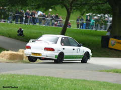 Impreza (BenGPhotos) Tags: 2016 car motorsport event race racing autosport sports motor sport motorsportatthepalace crystal palace sprint white japanese 1994 subaru impreza justin andrews m472ywe