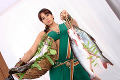 South Actress SANJJANAA Photos Set-6-Mahanadi Clips (70)