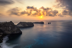 Beautiful Indonesia (mohdakhter) Tags: indonesia seascape longexposure hdr bali sunset water mountain